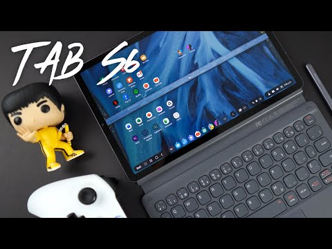 Samsung Galaxy Tab S6 - Keyboard, Adobe Rush, Microsoft Apps!