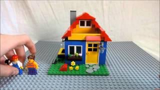 обзор LEGO 40154 подставка для карандашей