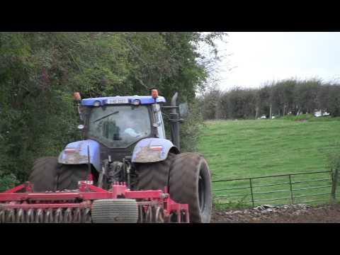 Ploughing ,Tilling, Drilling with New Holland Agriculture, Kverneland, Vaderstad