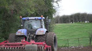 Ploughing ,Tilling, Drilling with New Holland Agriculture, Kverneland, Vaderstad