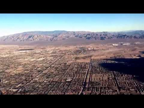 Takeoff from Las Vegas (LAS) on Allegiant Airlines, McDonnell Douglas MD-80/83