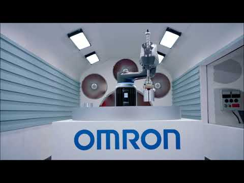 The new i4 Scara robot family from Omron