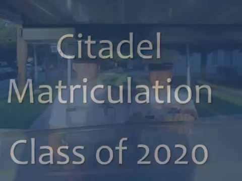 Citadel Matriculation - Class of 2020