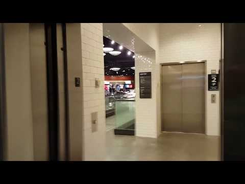 Custom Schindler Hydraulic Elevators at Nike Store - The Forum Shops at Caesars, Las Vegas NV