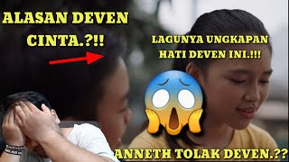 Download Lagu DEVEN JAWAB CINTA ANNETH .!!! || DEVEN - TUNGGU AKU SEBENTAR LAGI || #BANGREACTION mp3