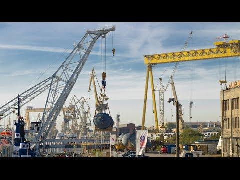 360 Tons Heavy Lift Crane Lodbrok Stocznia Szczecin