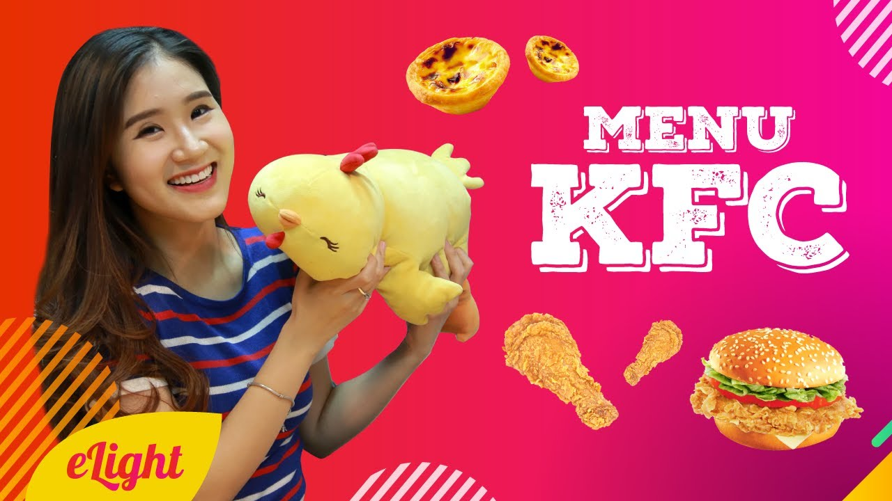 Học tiếng Anh qua menu KFC  [Từ vựng tiếng Anh theo chủ đề]