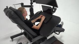 ErgoQuest Zero Gravity Chair / Workstation