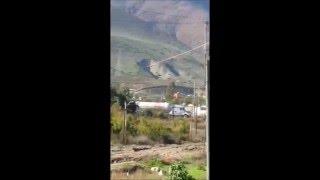 Evacuación por fuga de gas en la colonia El Niño