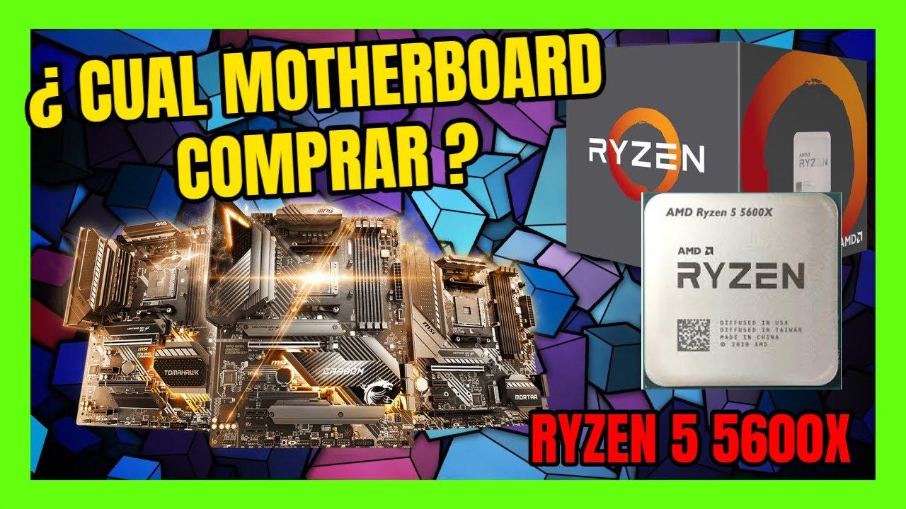 Download AMD RYZEN 5 5600X LAS MEJORES PLACAS BASE COMPATIBLES 🤖