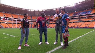 Vodacom Super Hero Sunday | Emirates Lions v Vodacom Bulls | Post-match interview with Morne Steyn