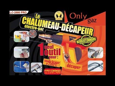 Chalumeau révolutionnaire soudure plomberie Onlygaz