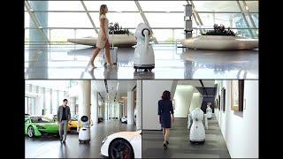 CRUZR, un robot de service humanoïde intelligent et connecté sur le cloud