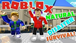 Playing with Burlington Gamer :: Roblox Natural Disaster Survival :: GamerBoyJJM