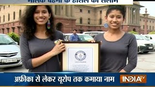 Meet World's First Female Twins To Climb Mount Everest, Tashi And Nungshi Malik | India Tv