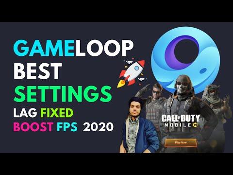 Gameloop Best Settings for Low end PC 4GB Ram Pubg & COD ✅ | Gameloop Lag Fix & FPS Boost | 2021