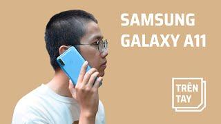 Mở hộp và trên tay Samsung Galaxy A11