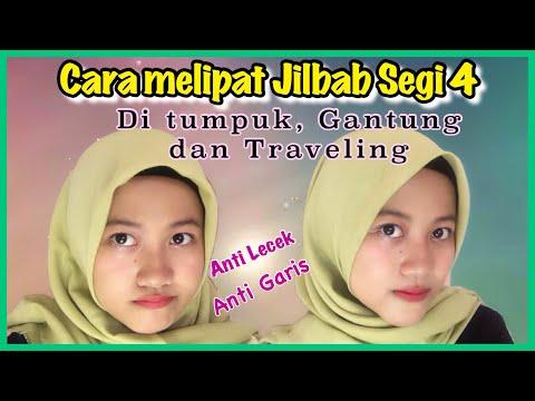 Cara Melipat & Menyimpan Kerudung Segiempat  ANTI Lecek / Kusut #NMY Hijab Tutorials