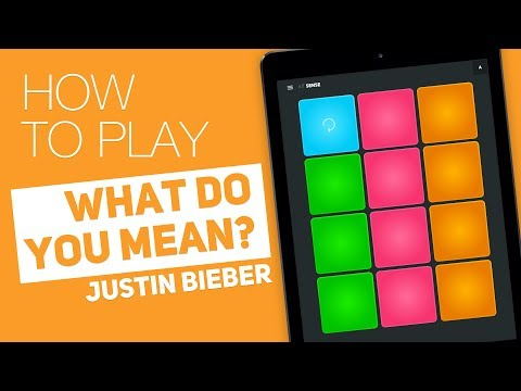 Thumbnail: How to play: WHAT DO YOU MEAN? (Justin Bieber) - SUPER PADS - Sense Kit