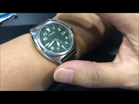 Short Review On The Citizen Aviator Automatic Green NJ0100 38X