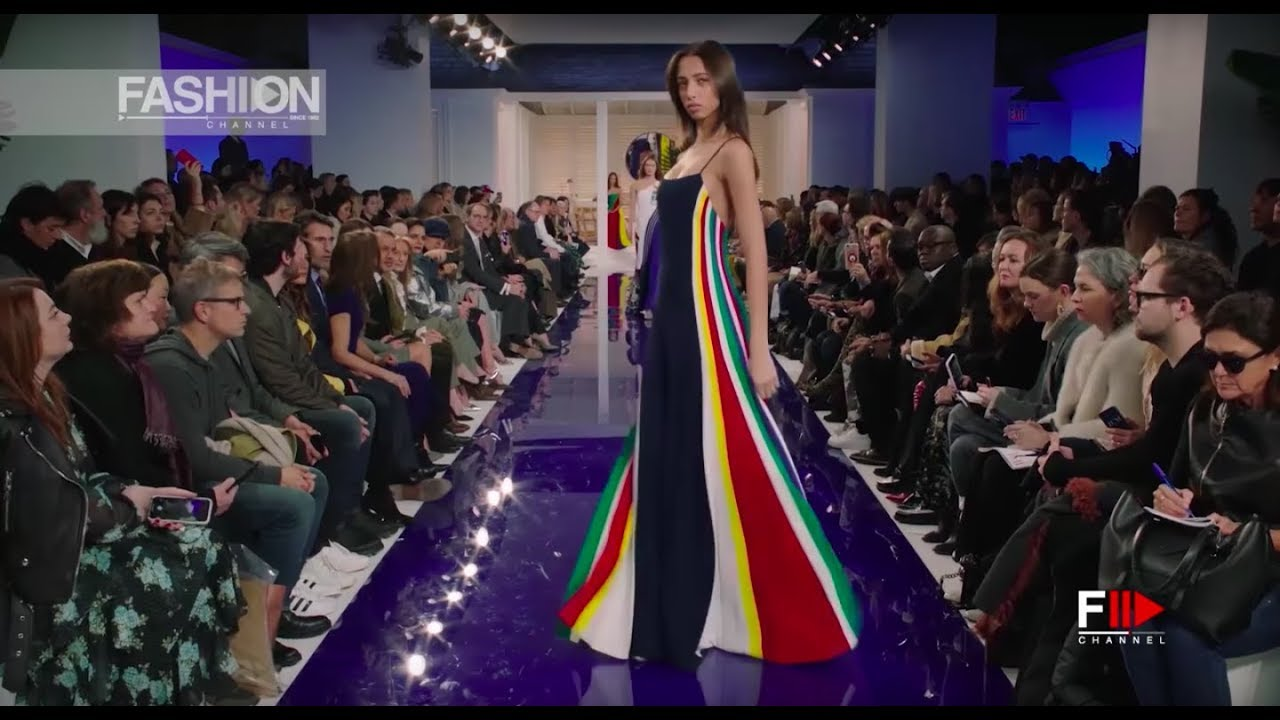 ceb460097058 RALPH LAUREN Spring Summer 2018 New York - Fashion Channel - YouTube