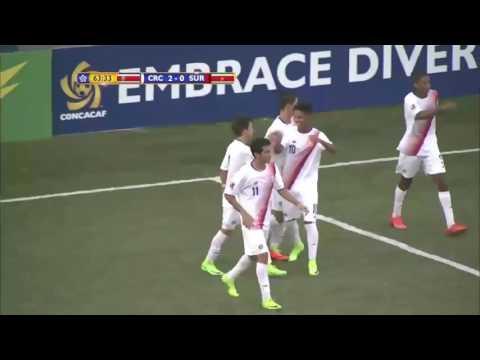 Costa Rica 2 Surinam 0