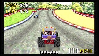 Monster Truck Madness (GBA) gameplay