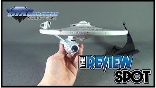 Collectible Spot - Diamond Select Star Trek the Undiscovered Country U.S.S Enterprise NCC-1701-A