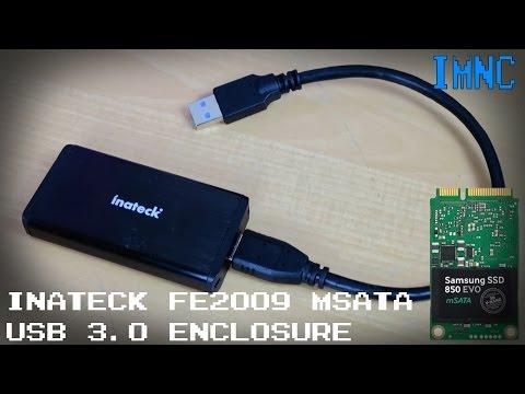 Inateck FE2009 Portable USB 3.0 mSATA SSD Enclosure | IMNC