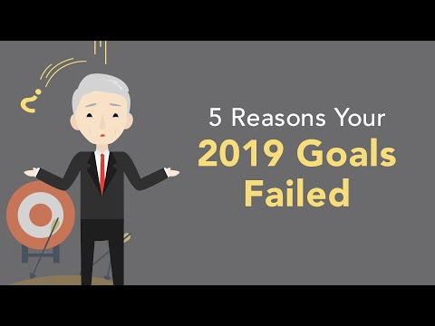 5 Methods to Fail 2020 – How you can NOT Achieve Your Objectives