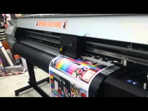 Mimaki JV33A II_(s/n: J5*****8) Printing ~~~GOGO!!