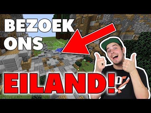 BEZOEK NU ONS EILAND!! - Minecraft Skyblock #10