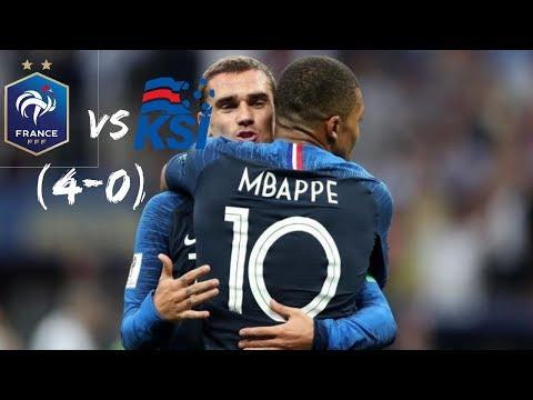 FRANCIA vs ISLANDIA (4-0) |  Resumen Completo | Goles 2019