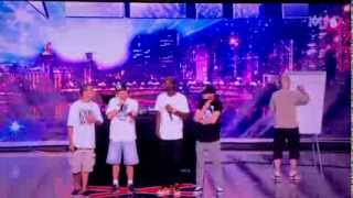 Incroyable Talent audition EOW impro / Artik / Res Turner / Lun1k / Dj Keri