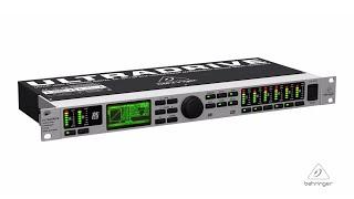 ULTRADRIVE PRO DCX2496LE Digital 24-Bit/96 kHz Loudspeaker Management System