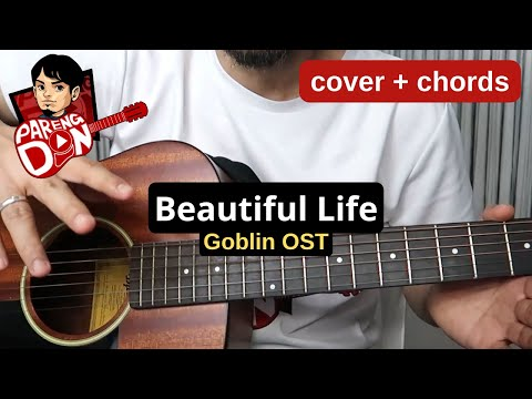 Beautiful life - Goblin OST - Beautiful by Crush - CHORDS Karaoke Style Guitar Tutorial