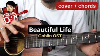 Beautiful life - Goblin OST - Beautiful by Crush - CHORDS Karaoke Style Guitar Tutorial