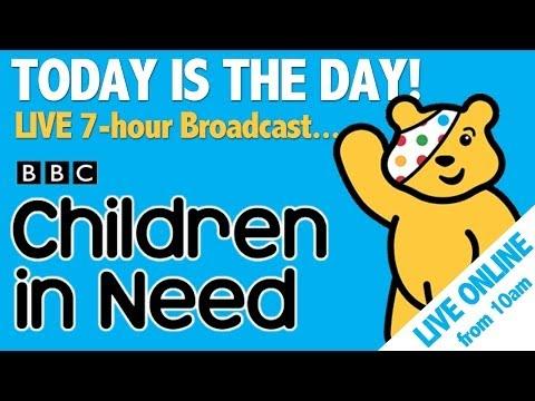 Children in Need LIVE BROADCAST!