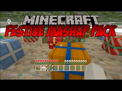 Minecraft: Festive Mash-Up Pack - FINDING SANTA'S GROTTO!
