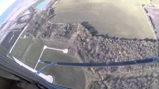 Посадка на авторотации с режима висения Bell-407