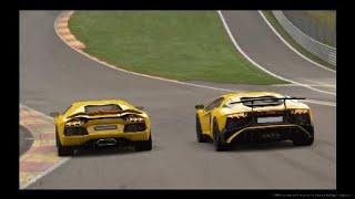 Lamborghini Aventador Vs Lamborghini Aventador SV [Gran Turismo Sport]