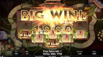 Jumanji €16260 Big Win - 3 bonuses 22 free spins