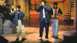 DIGABLE PLANETS- live with David Letterman Band 1993 - VHS - from TV