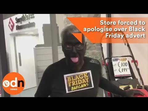 Hardware store in Ireland forced to apologise after this Black Friday advert