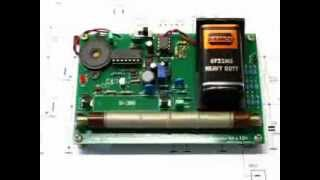 Geiger Counter; Radiation Detector Diy Kit Demonstaration With Thorium Gas Mantle