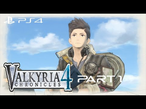 Valkyria Chronicles 4: Eastern Front Walkthrough Gameplay Part 1 - Operation Northern Cross