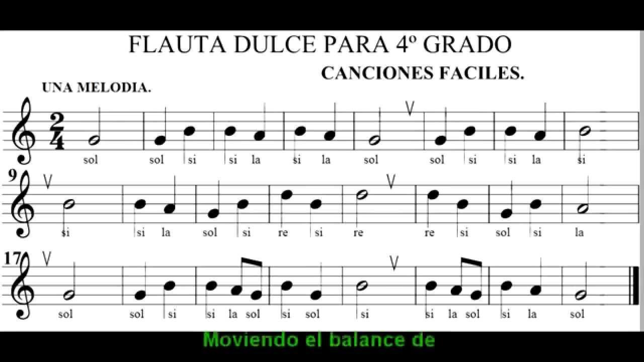Para Tocar La Flauta Dulce
