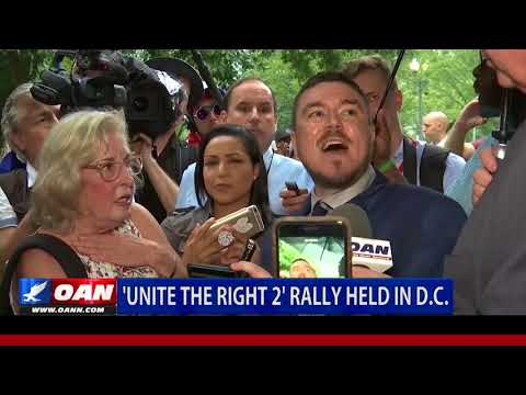 'Unite the Right 2' Rally Held in D.C.
