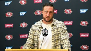 Joe Staley Reacts to 49ers Loss in Kansas City