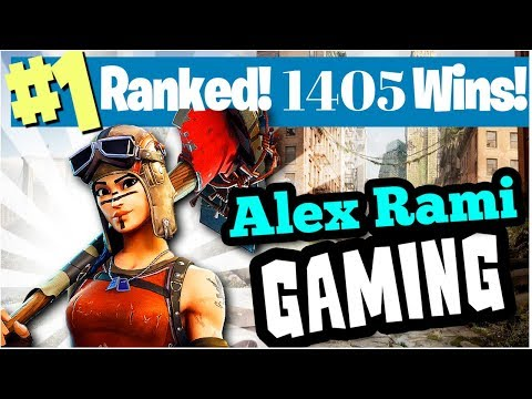 #1 WORLD RANKED 1405 SOLO WINS! - FORTNITE BATTLE ROYALE LIVE STREAM
